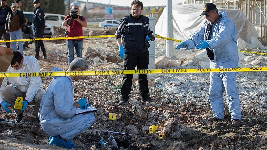 Kilis'e düşen roketler 12 kişiyi yaraladı