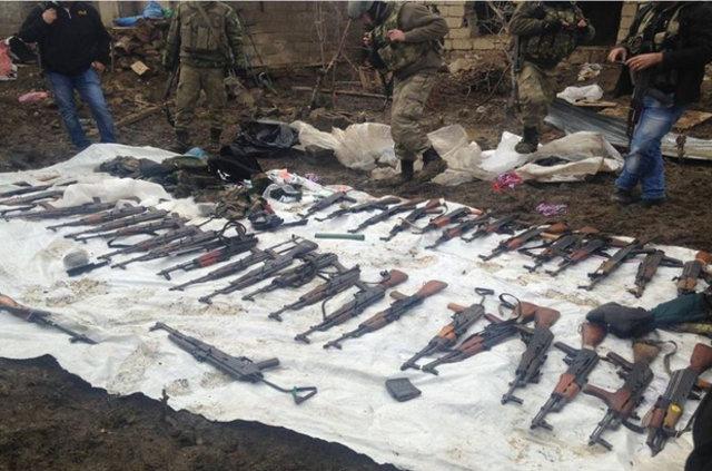 Kaçan PKK'lıların geride bıraktıkları