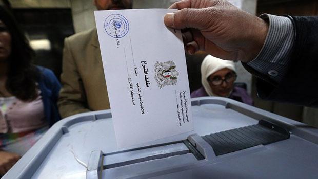 Suriye'de kimsenin tanımadığı seçimler