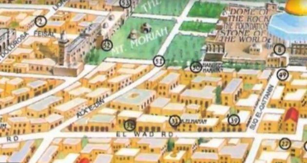 İsrail'in hayalindeki Kudüs haritası