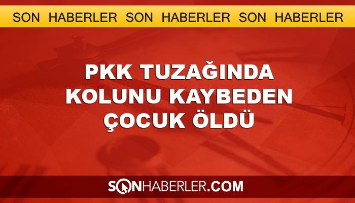 PKK tuzağında yaralanan 4 yaşındaki çocuk öldü