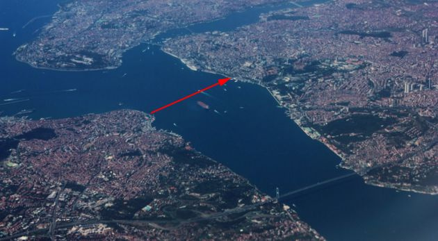 İstanbul Boğazı'nın altına yaya yolu