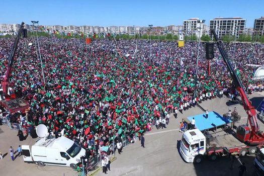 Diyarbakır'a yakışan Kutlu Doğum etkinliği