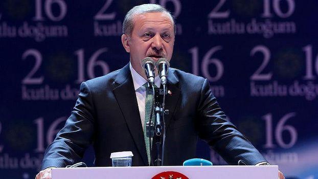 Erdoğan'dan 'mezhepçilik, terör ve ırkçılık' uyarısı