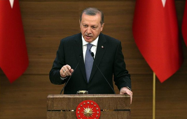 Erdoğan Beştepe'de gençlere seslendi