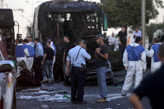 Kudüs'te patlama: 20 kişi yaralandı