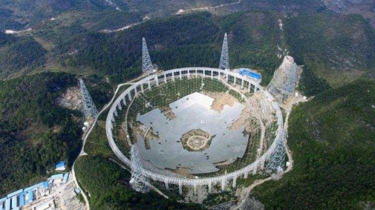 Dünyanın en büyük teleskobu