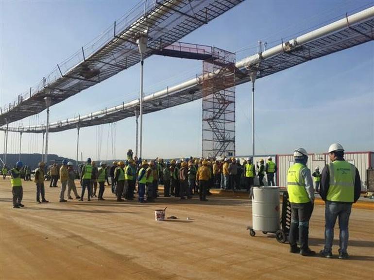 Üçüncü köprü inşaatında ikramiye krizi