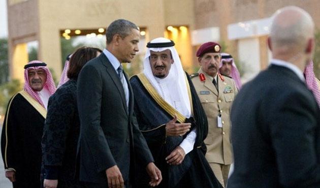 Obama'dan sürpriz Suudi Arabistan ziyareti