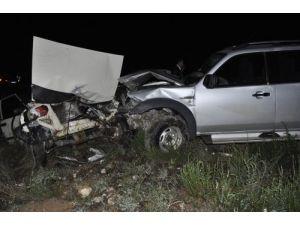 Afşin'de zincirleme kaza: 1 ölü, 4 yaralı