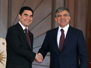 Türkmenistan Devlet Başkanı Berdimuhamedov Çankaya Köşkü'nde