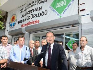 ASKİ Ceyhan şubesi açıldı