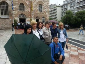 Düriye Duran İlkokulu 4. sunumunu Selanik'te yaptı