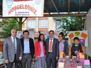 Ortaköy'de bilim fuarı düzenlendi