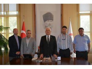 Muğla Turist Rehberleri Odası'ndan Başkan Gürün'e ziyaret