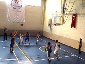 İşitme engelliler Türkiye basketbol şampiyonası Bafra'da başlaldı