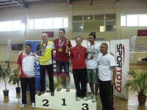Şaban Kırcalı badmintonda Türkiye 3.sü oldu