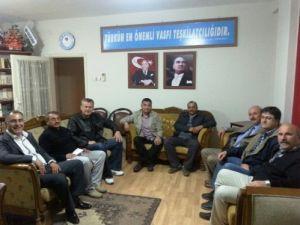 Türkav Bafra Şube yönetimine hayırlı olsun ziyareti