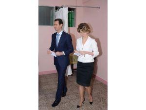Esed Şam'da oy kullandı
