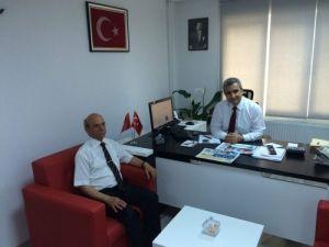 Söylevci, BİK Aydın Müdürü Akoğlu'nu ziyaret etti