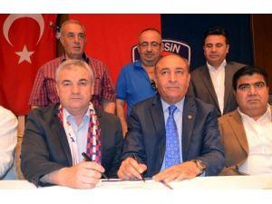 Mersin İdmanyurdu, Rıza Çalımbay ile sözleşme imzaladı