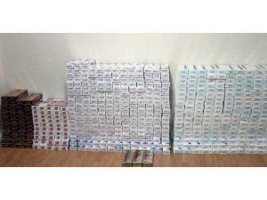 Kırklareli'nde 6 bin paket gümrük kaçağı sigara ele geçirildi