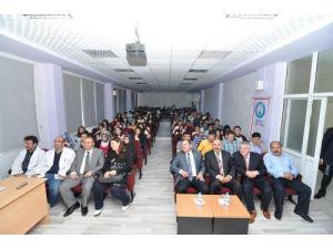 ÇTSO Başkanı Başaranhıncal, Fen Lisesi öğrencileri ile buluştu