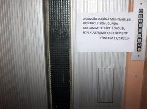 Asansörlerin yüzde 70'i can güvenliğini tehdit ediyor
