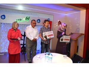 Giresun'da 'Herkes O'nu Okuyor' yarışmasının ödülleri sahiplerini buldu
