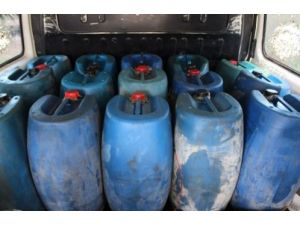 Hatay'da 955 litre kaçak mazot ele geçirildi