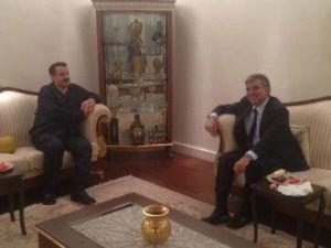 Cumhurbaşkanı Gül, taburcu olan Çelik'i evinde ziyaret etti