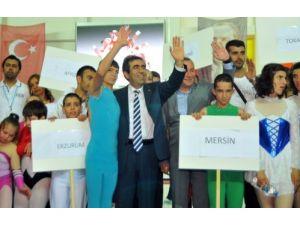 Özel Sporcular Türkiye Jimnastik Şampiyonası Mersin'de başladı