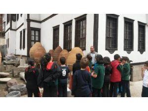 Ergin Koleji öğrencileri müzeyi gezdi