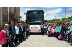 Korkutlu öğrenciler Doğu Karadeniz gezisine çıktı