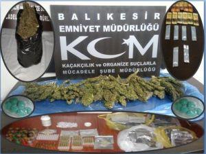 Balıkesir'de uyuşturucu operasyonu: 14 gözaltı