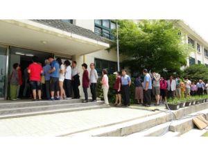 Güney Kore'de yerel seçimlerde oy verme işlemi başladı