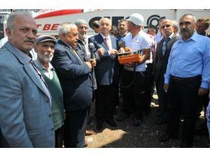 Mevlana Camii'nin temeli Şentepe'de atıldı