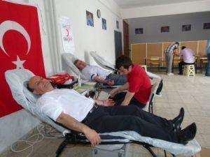 Kurt: Bir kan, bir can kampanyası öğrencilere örnek bir çalışma oldu