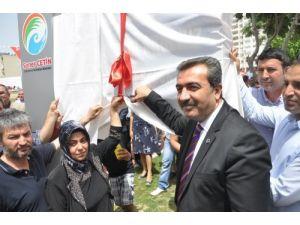 Gizem Akdeniz Parkı buruk bir törenle açıldı