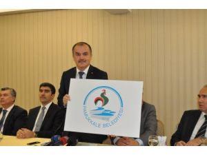 Pamukkale Belediyesi'nin logosu belirlendi