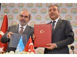 Bakan Eker: Türkiye, FAO projelerine yardım eden ülke konumuna geldi