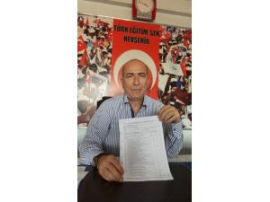 Türk Eğitim-Sen Nevşehir Şube Başkanı Uğur: TES, yetkili sendikadır