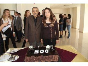 Dokuz Eylül Üniversitesi Hastanesi 500. karaciğer naklini kutladı