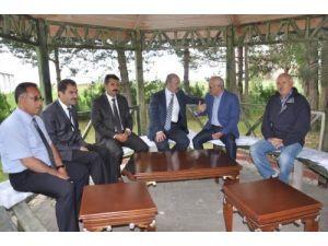 Vali Büyükersoy, Berce'de incelemelerde bulundu