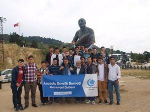 AGD, İstanbul ve Çanakkale şehitliği'ni ziyaret etti