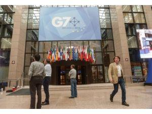 Putin'siz G7'de gündem Rusya ve Ukrayna