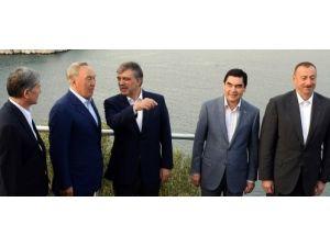 Berdimuhamedov, Aliyev ile Bodrum'da görüştü