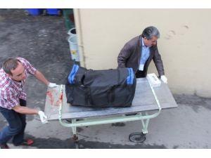 Parçalanmış halde bulunan ceset, bavulun içinde morga götürüldü