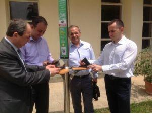 Çukurova Üniversitesi'nde güneş enerjili cep telefonu istasyonu hizmeti