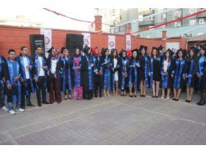 Cizre Meslek Yüksekokulu 6. mezunlarını verdi